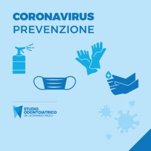 coronavirus mascherina e guanti
