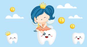 denti da latte fatina topino